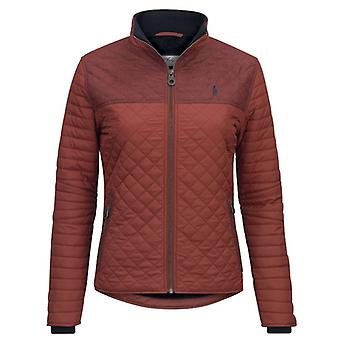 Jack Murphy Martha Quilted Jacket Red Brick