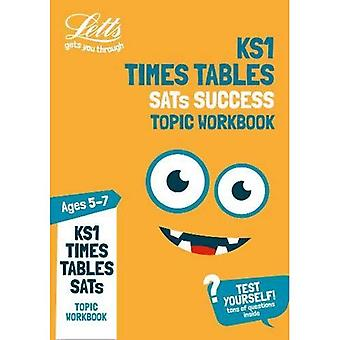 Times Tables Ages 5-7 Topic Practice Workbook: 2019 tests (Letts KS1 Practice) (Letts KS1 Practice)