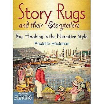 Story mattor och deras berättare: matta Hooking i berättande stil