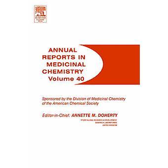 ANNUAL REPORTS IN MED CHEM VOL40 da DOHERTY