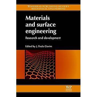 Material och yta Engineering forskning och utveckling av Davim & J. Paulo