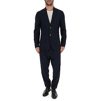 Barena Venezia Blue Cotton Suit