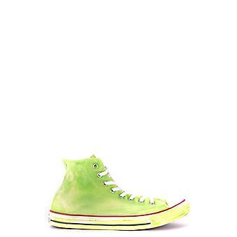 Converse Green Fabric Hi Top Sneakers