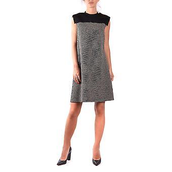 Philosophy By Lorenzo Serafini Black Wool Dress