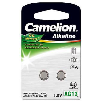 Camelion A76 LR44 AG13 batteri 2-pack