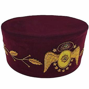 Masonic Scottish Rite 95th Degree Hand embroided Cap