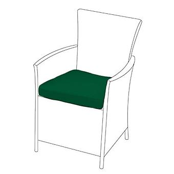 Green Seat Cushion for Rattan Chair, Pack of 4