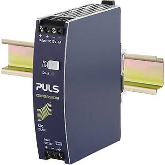 PULS CD5.121 rail mount DC/DC converter, output: 12 Vdc 8 A 96 W