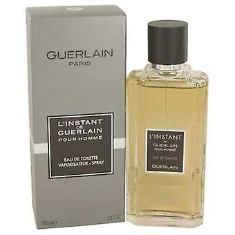 L'instant By Guerlain Eau De Toilette Spray 3.4 Oz (men) V728-536473