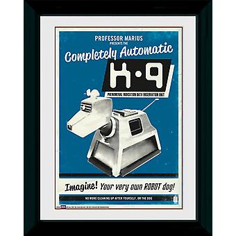 Doctor Who K9 Framed Collector Print 40x30cm