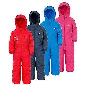 Overtreding Kids DripDrop All In een gewatteerde waterdichte regen pak