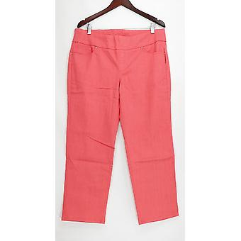 Denim & Co. Women's Petite Jeans Perfect Denim Smooth Waist Pink A239620