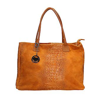 Handbag made in leather P80042