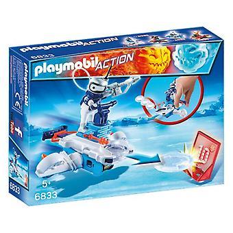 PLAYMOBIL Icebot avec disque Shooter 6833