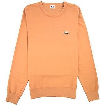 CP Company Chest Logo Sweatshirt Orange