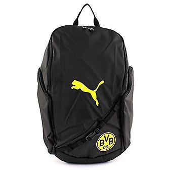 PUMA BVB Liga Backpack - Borsa a Tracolla Unisex Adulto - Black-Cyber Yellow - UA