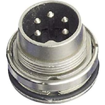 Amphenol C091 31W004 100 2 Circular Connector Nominal current: 5 A Number of pins: 4 DIN