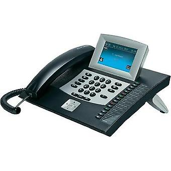 PBX ISDN Auerswald COMfortel 2600, black Answerphone, Headset connection Touch display Black, Silver