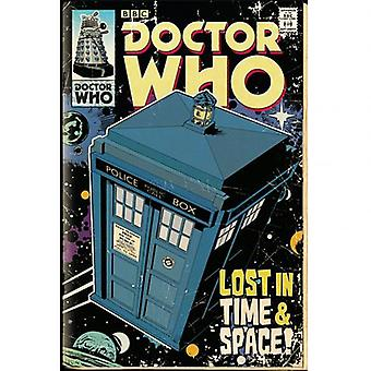 Doctor Who Poster Tardis 222