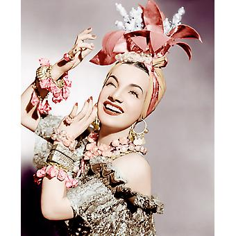 Carmen Miranda Ca Early 1940S Photo Print