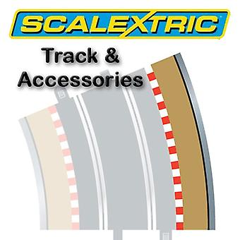 Scalextric Track - Radius 4 Outer Border/Barrier 22.5o