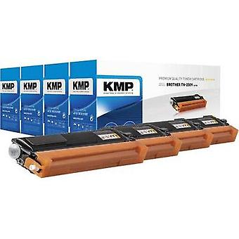 KMP Toner cartridge combo pack replaced Brother TN-230 Compatible Black, Cyan, Magenta, Yellow 2200 pages B-T32V