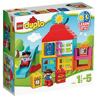 Lego 10616 My First Playhouse (Toys , Preschool , Puzzles And Blocs)