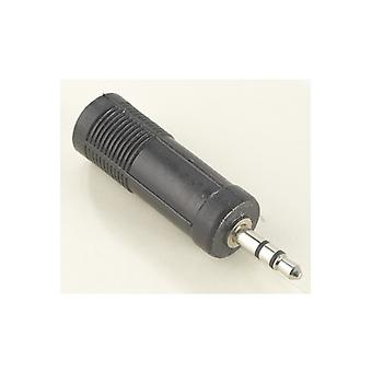 HAMA Adapter 6,3 mm - 3.5 mm female-male ST