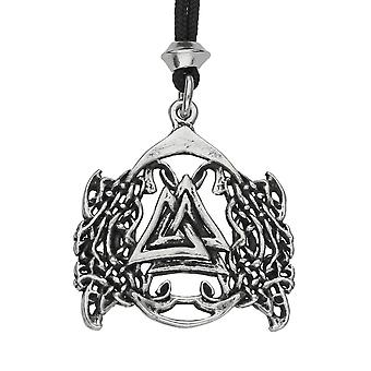 Handmade Norse Viking Valknut Pewter Pendant ~ Knot of the Fallen