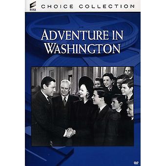 Adventure in Washington [DVD] USA import