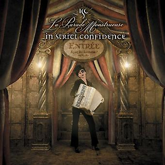 In Strict Confidence - La-Parade Monstrueuse [CD] USA importeren