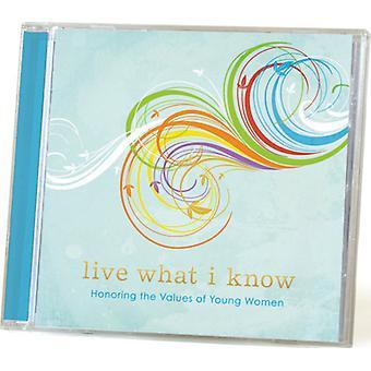 Live, hvad jeg kender: ære værdier af unge Wom - Live, hvad jeg kender: ære værdier af unge Wom [CD] USA importen