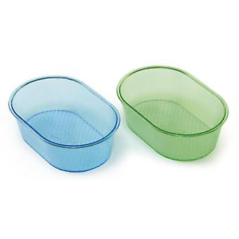 Arquivet Small Glass Bath (Birds , Bird Cage Accessories , Bird-Baths )