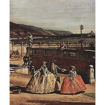 Canaletto - vrouwen Poster Print Giclee