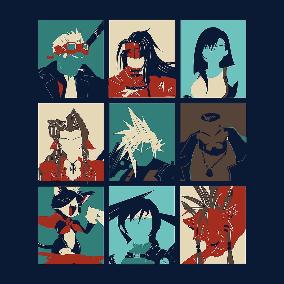 Final Fantasy 7 Pop Art Men S T Shirt