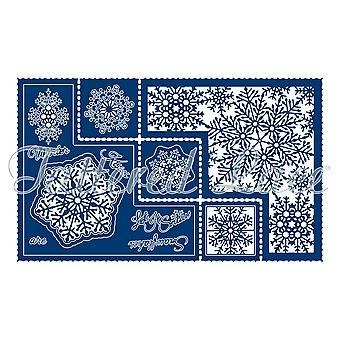 Tattered Lace Snowflake Shaped Card Die