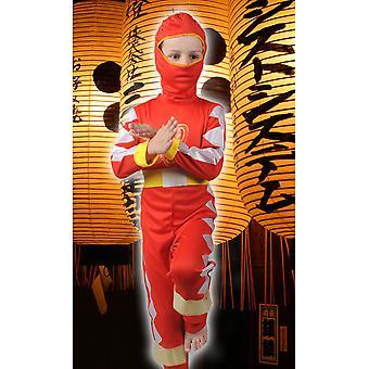 Barnkläder för pojkar Ninja boy röd