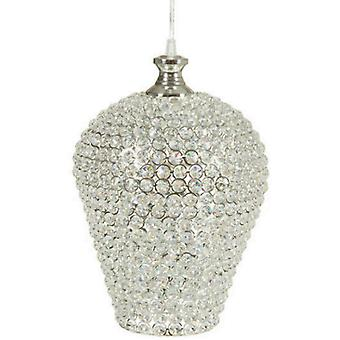 Bigbuy Silver ceiling lamp by Shine Inline (Home , Lighting , Hanging lamps)