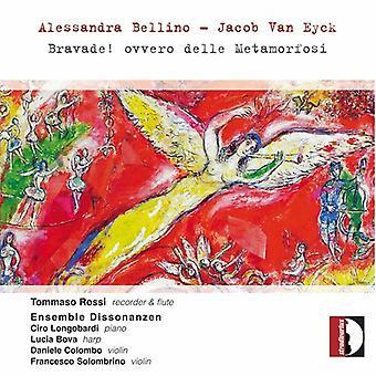 Bellino / Eyck / Rossi / Longobardi / Colombo - Alessandra Bellino & Jacob Van Eyck: Bravade [CD] USA import