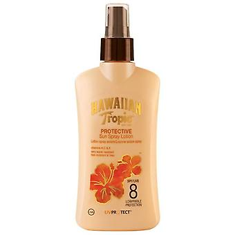 Hawaiian Tropic Ht Sun Protector Spray Lotion SPF 8