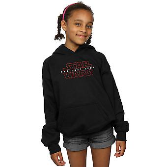 Star Wars Girls The Last Jedi Logo Hoodie