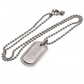 West Ham United Framed Dog Tag & Chain CT