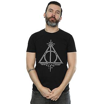 Harry Potter Men's Deathly Hallows Symbol T-Shirt