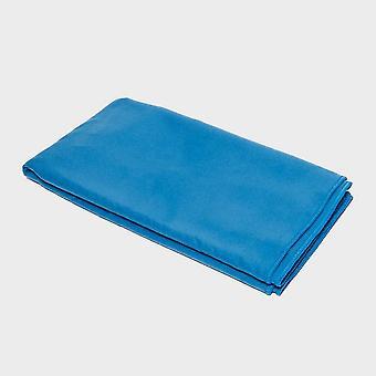 Eurohike Suede microfiber handdoek - Medium blauw