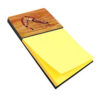 Camarones Refiillable Nota adhesiva soporte o despachador Postit Nota