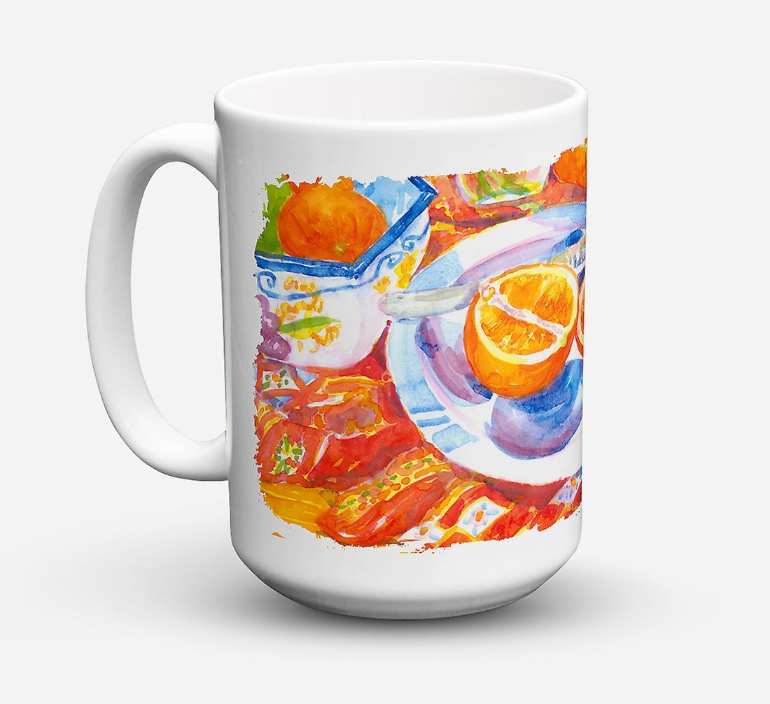 Micro Sûre Le Florida En Café Tranches Petit Déjeuner Céramique vaisselle ondes Pour Lave Oranges dexoCB