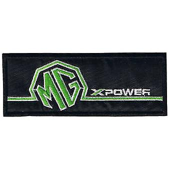 MG X-Power iron-on/sew-on cloth patch