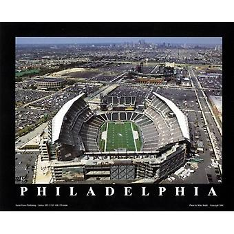 Philadelphia Pennsylvania - Lincoln Fin Poster Print von Mike Smith (28 x 22)