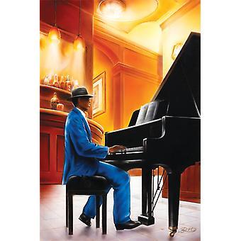 Jazz - Piano Poster Poster Print