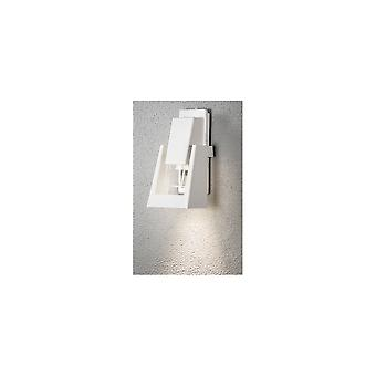 Luz da parede Konstsmide Potenza branco óleo lanterna estilo jardim